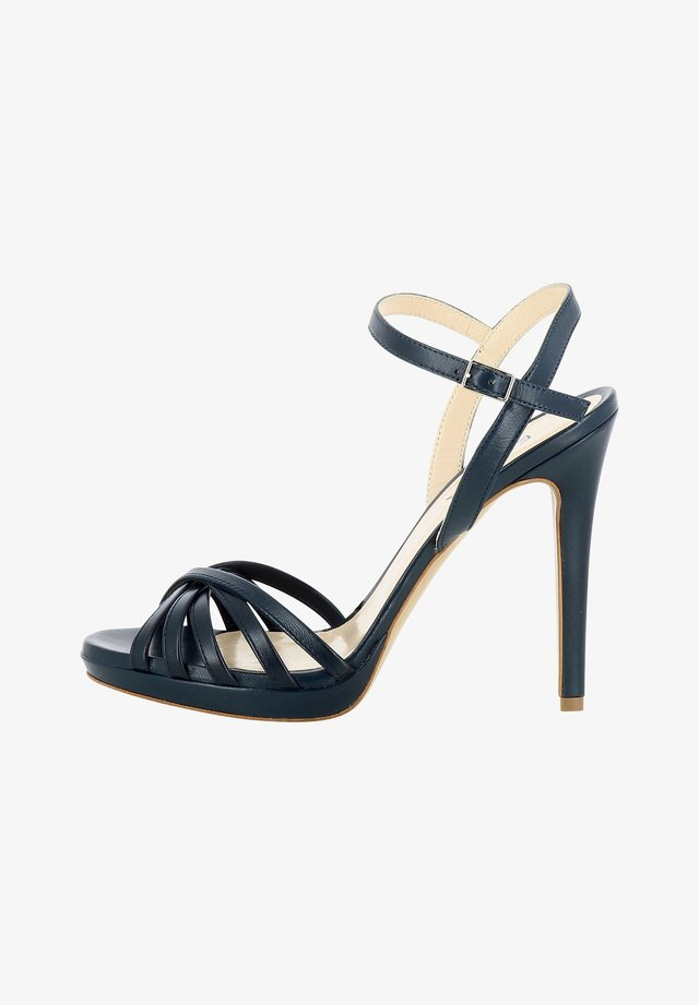 EVA - High heeled sandals - dark blue