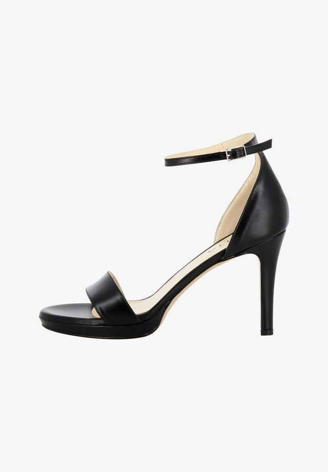 CANDIDA - Sandalen met hoge hak - black