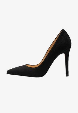 Zapatos altos - noir