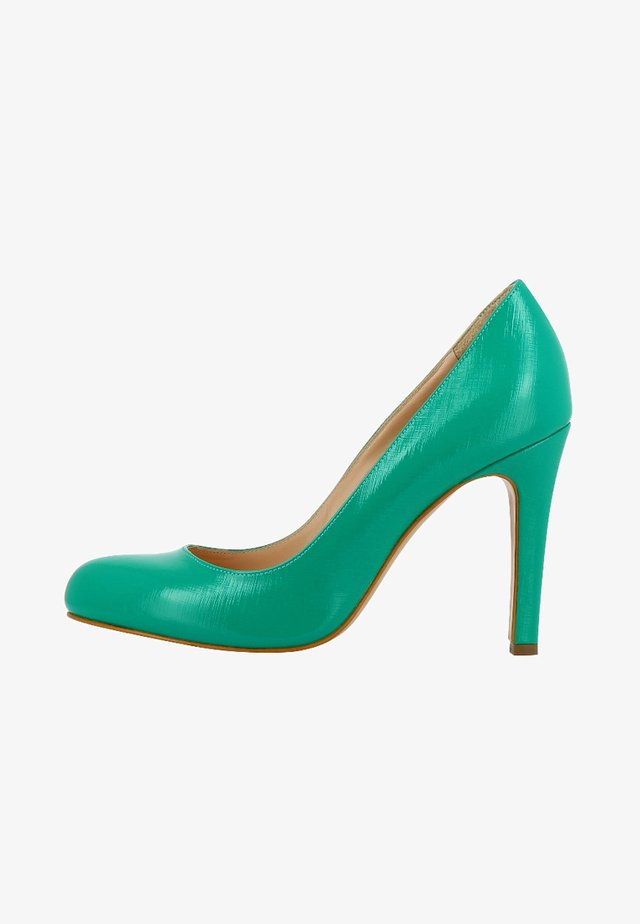 Klassiska pumps - green