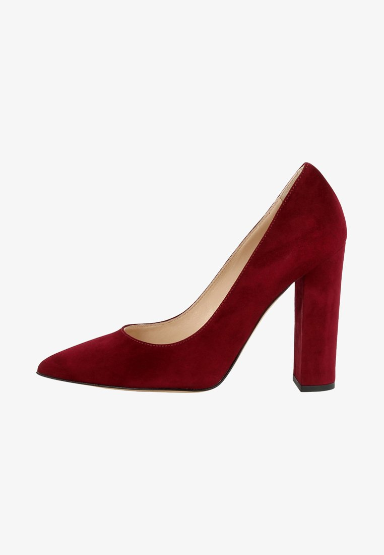 Evita - ALINA - Højhælede pumps - dark red