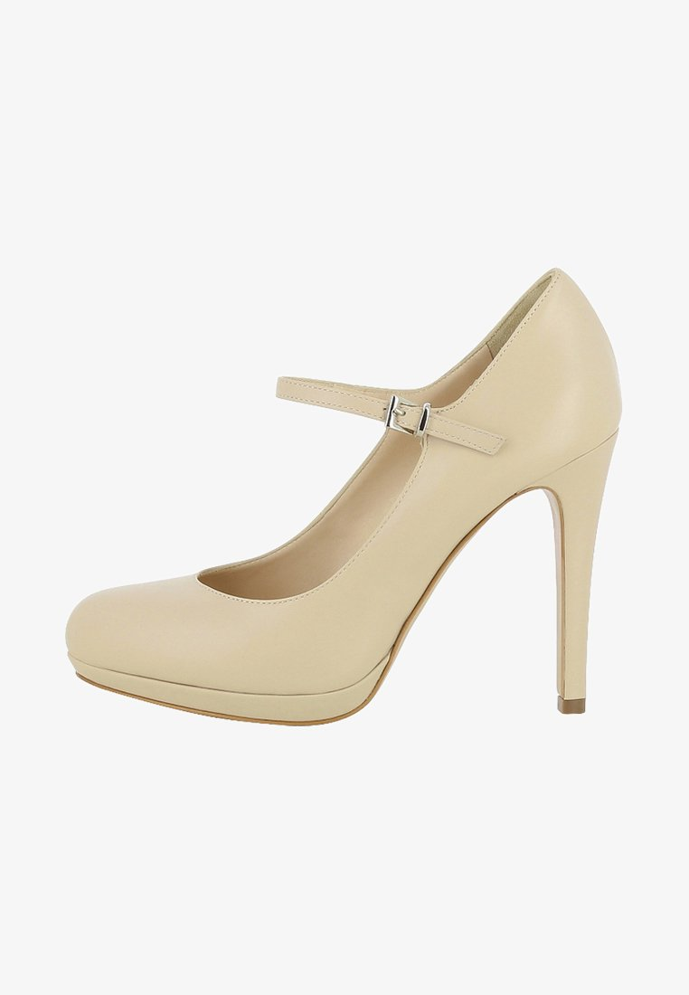 Evita - CRISTINA - Højhælede pumps - beige