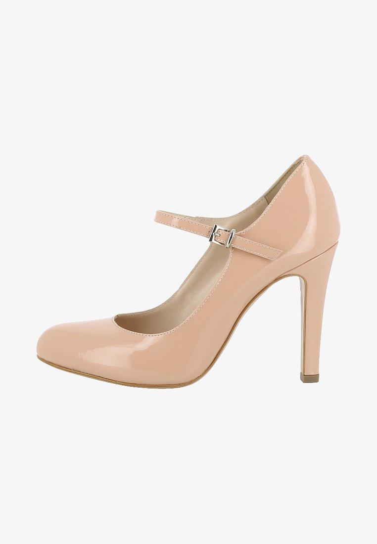Evita - CRISTINA - Højhælede pumps - nude