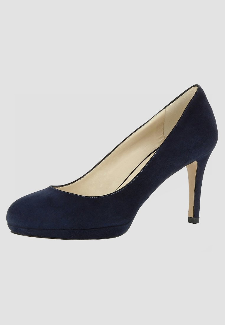 Evita BIANCA - Escarpins dark blue