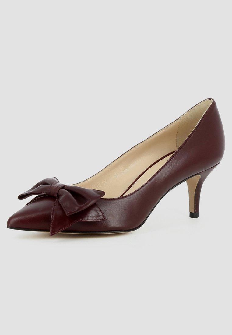 Evita GIULIA - Escarpins - bordeaux - Chaussures à talons femme Limité