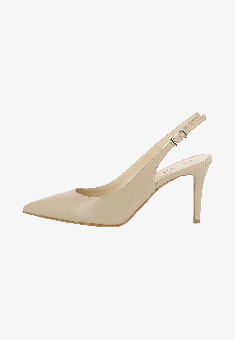 Evita - Højhælede pumps - beige