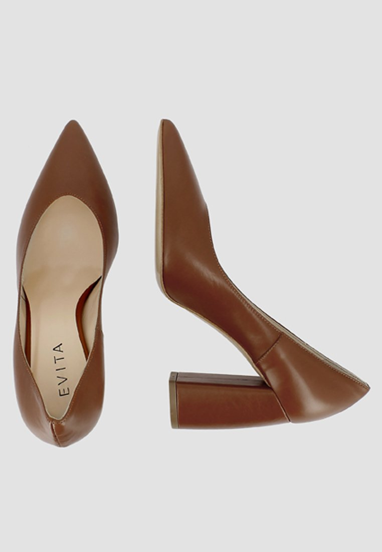 Evita Matilde - High Heel Pumps Cognac Black Friday