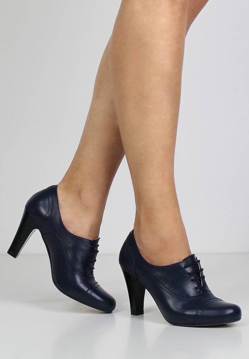Evita - MARIA - High heels - dark blue