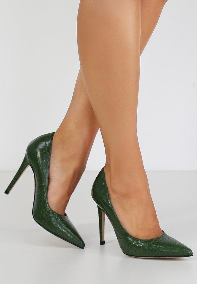 ALINA - High Heel Pumps - green