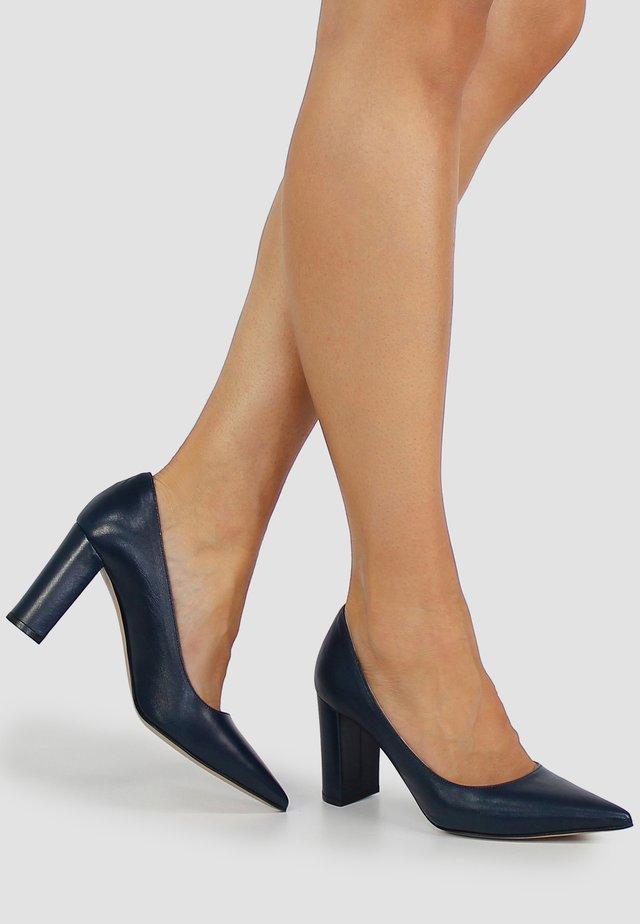 JESSICA - Classic heels - dark blue