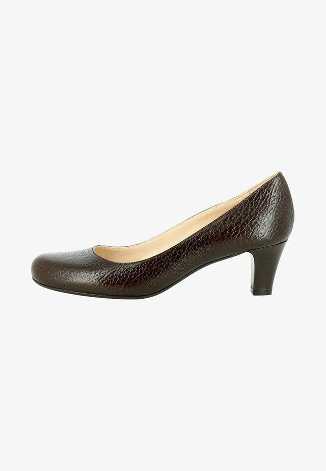 Klassieke pumps - dark brown