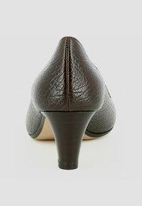 Evita - Escarpins - dark brown - 3