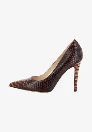 ALINA - Zapatos altos - brown