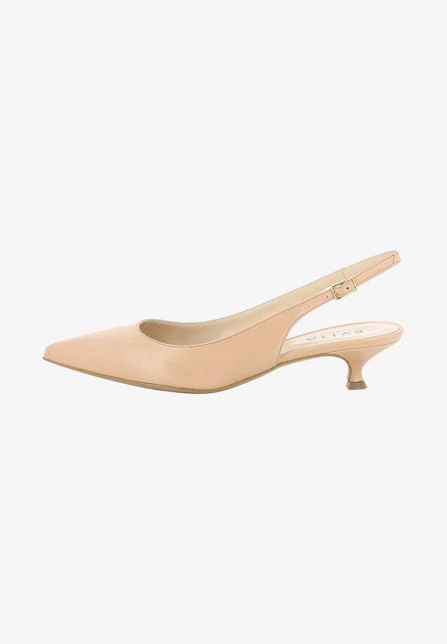 GIORGIA - Classic heels - nude