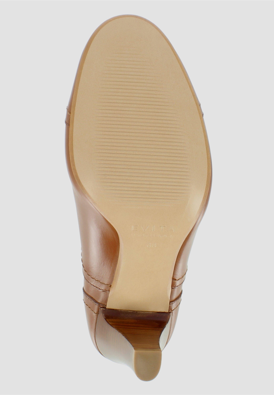 Evita MARIA - Boots à talons - cognac