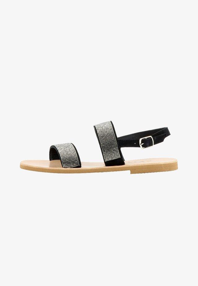 GRETA - Sandalen - black