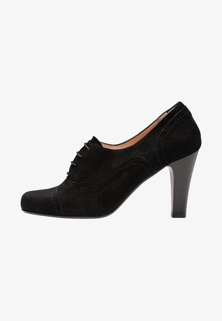 Evita - MARIA - Lace-up heels - black