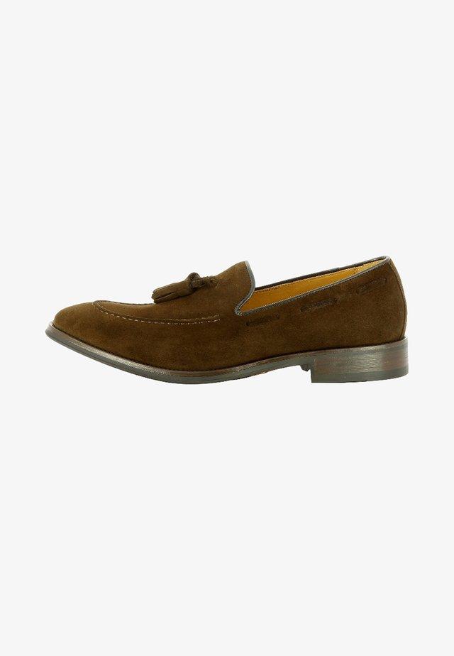 STEFANO - Slipper - dark brown