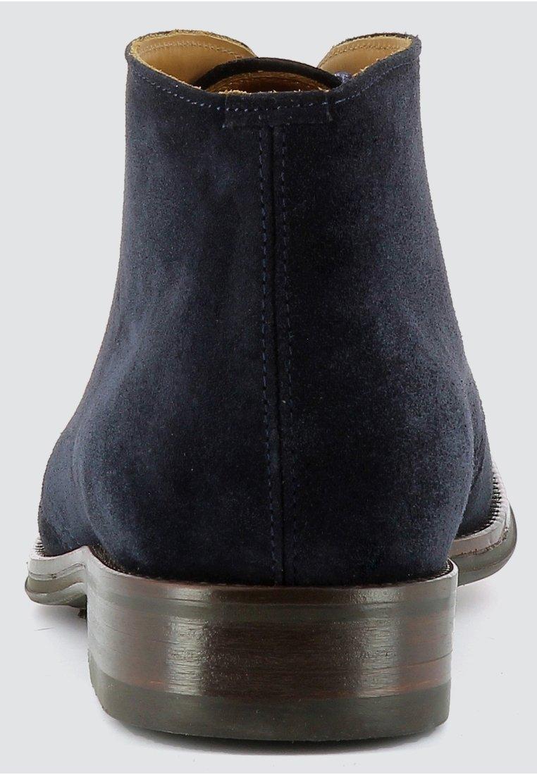 Evita STEFANO - Bottines à lacets - dark blue