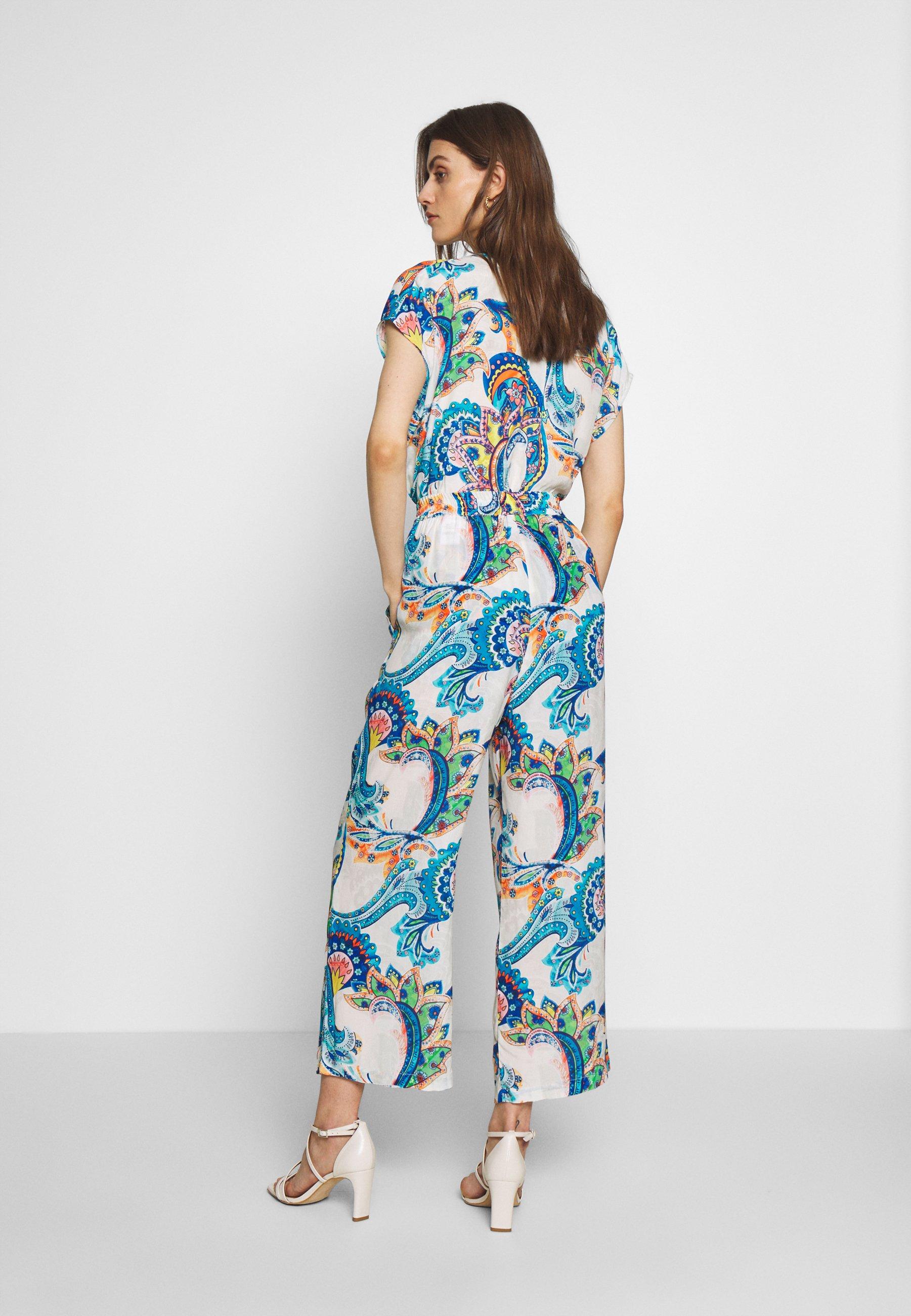 Emily van den Bergh Spodnie materiałowe - multicolour