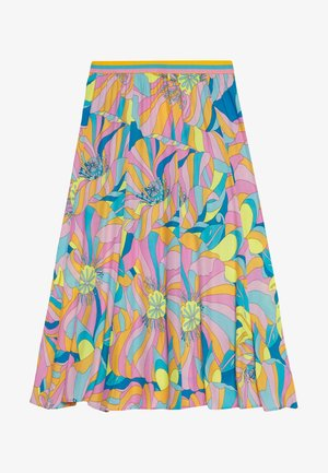 A-line skirt - multicolour