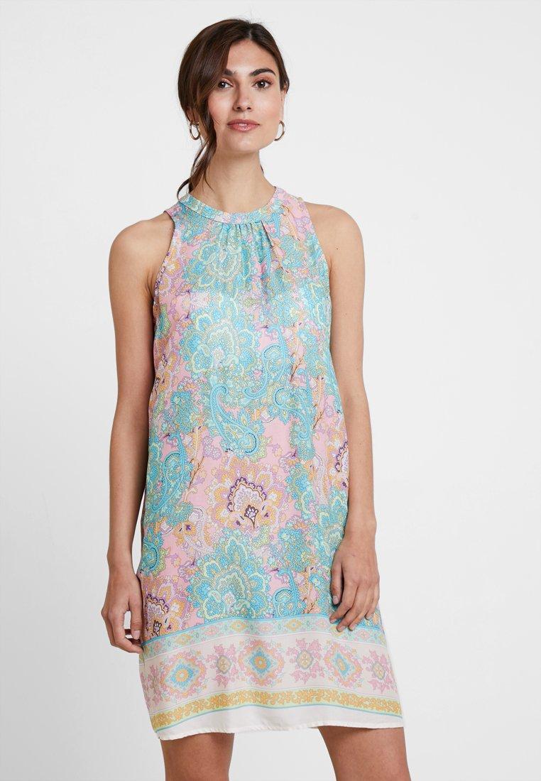 Emily van den Bergh - Day dress - pink/turqoise