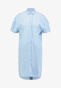 Emily van den Bergh - Shirt dress - white/blue - 4