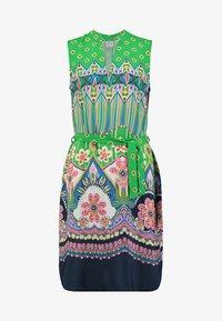 Emily van den Bergh - Day dress - green/pink - 4