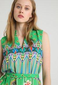 Emily van den Bergh - Day dress - green/pink - 3