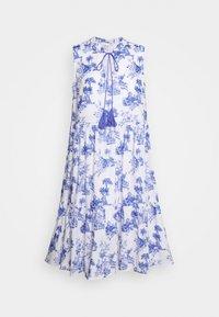 Emily van den Bergh - DRESS - Denní šaty - white/blue - 3