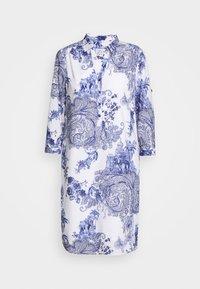 Emily van den Bergh - DRESS - Košilové šaty - white/blue - 4