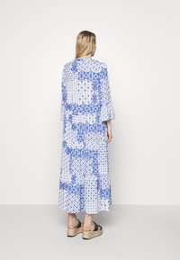 Emily van den Bergh - DRESS - Maxi dress - white/blue - 2