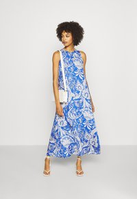 Emily van den Bergh - DRESS - Maxi dress - blue/white - 1