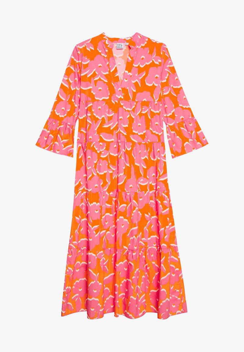 Emily van den Bergh - DRESS - Maxi dress - orange/pink