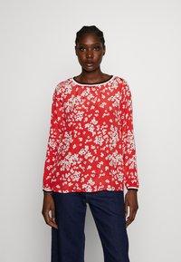 Emily van den Bergh - Blouse - red/white - 0
