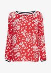 Blouse - red/white