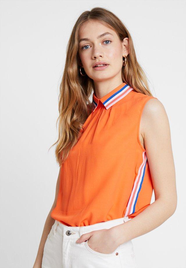 Blouse - orange