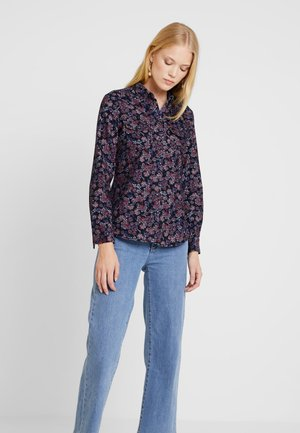 Camicia - navy/red