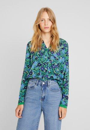 Camicia - green/blue
