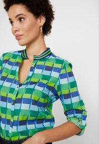 Emily van den Bergh - Blouse - blue/green - 5