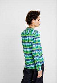 Emily van den Bergh - Blouse - blue/green - 2