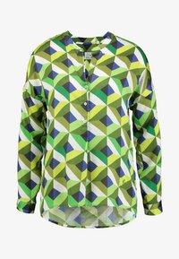 Emily van den Bergh - Bluser - multicolour green - 3