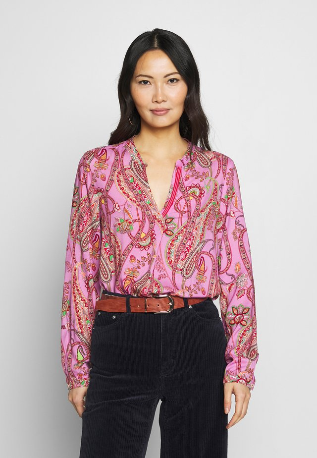 Blouse - pink/red
