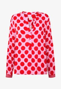Emily van den Bergh - Blouse - red dots - 4