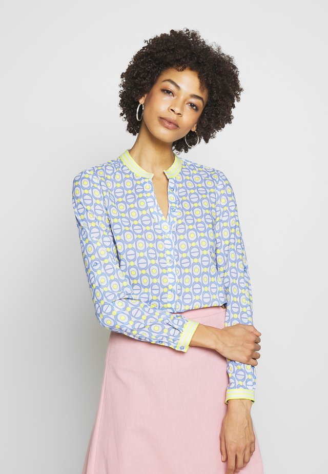 Blouse - bleu yellow