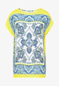Emily van den Bergh - Blouse - yellow/blue - 4