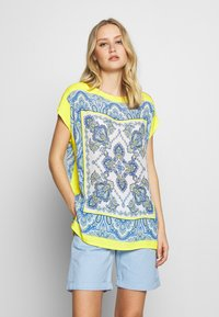 Emily van den Bergh - Blouse - yellow/blue - 0