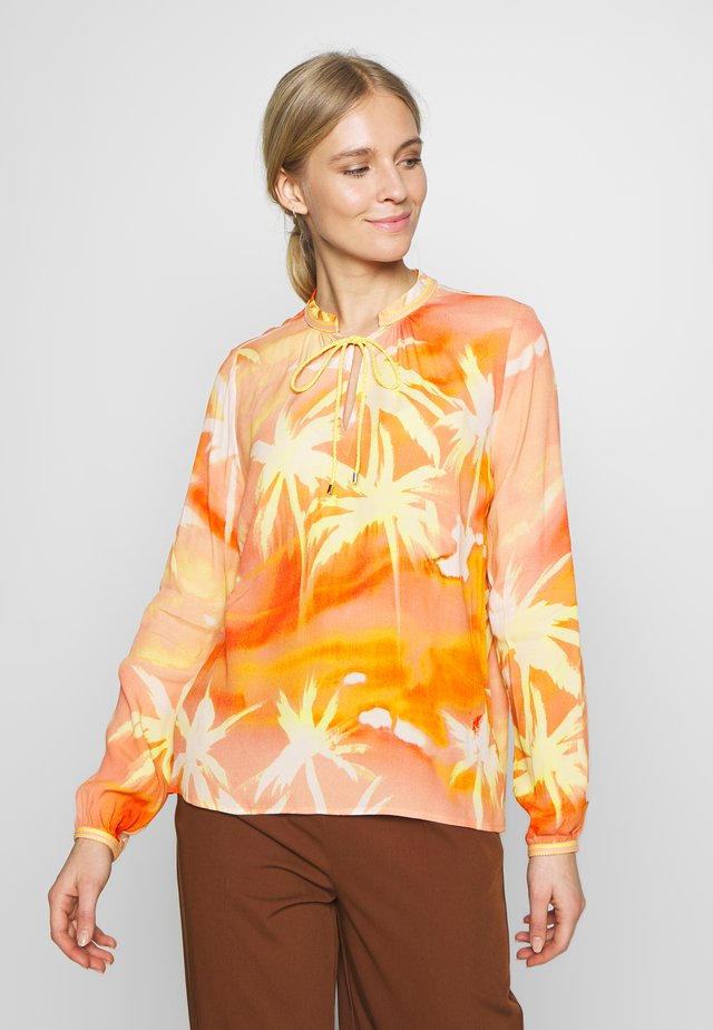 Tunic - orange/yellow
