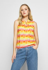 Emily van den Bergh - Blouse - yellow/orange - 0