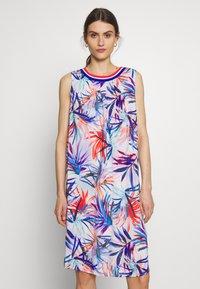 Emily van den Bergh - Day dress - red/blue - 0